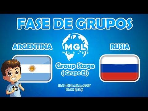 CR WORLDS: ARGENTINA VS RUSIA - FASE DE GRUPOS | KManuS88 | Clash Royale
