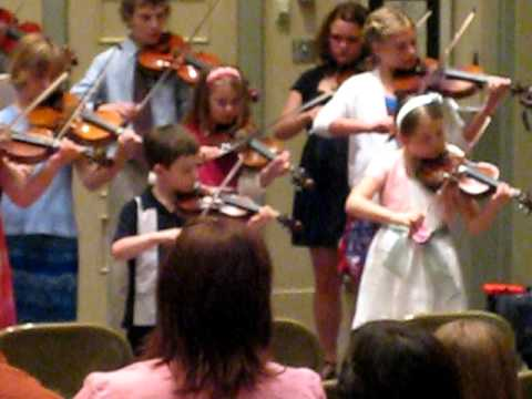 Spring Recital Lakewood Suzuki Strings