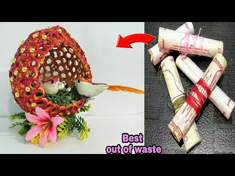 Download DIY Best out of waste Thread Spools/Best Reuse Idea/Cool Craft Idea