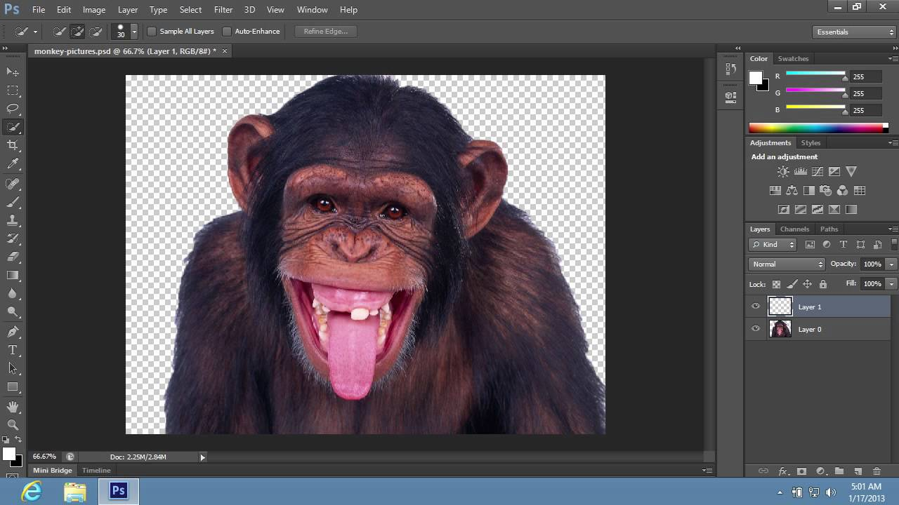 How To Change Background From Transparent To White In Photoshop Cs6
