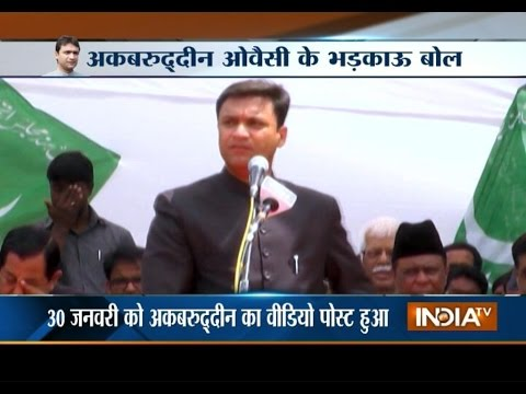 Akbaruddin Owaisi Hatred Speech, Attacks PM Modi over 'Sabka Saath Sabka Vikas'