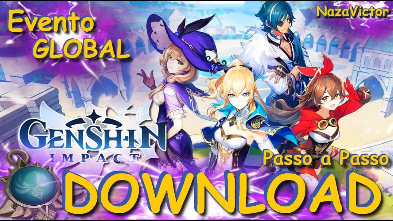 Download Como Baixar Instalar Se Registrar Genshin Impact Pc Android Evento De Lancamento Global Youtube
