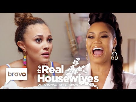 Ashley Knows Who Her Real Friends Are After Michael Darby's Allegations | RHOP After Show (S4 E11)