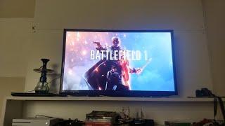 JOGANDO NO XBOX ONE S # BATTLEFIELD 1 # FORZA 5