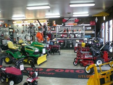 Lawn mowers for sale buy lawn mowers tractors parts for Small motor repair shop
