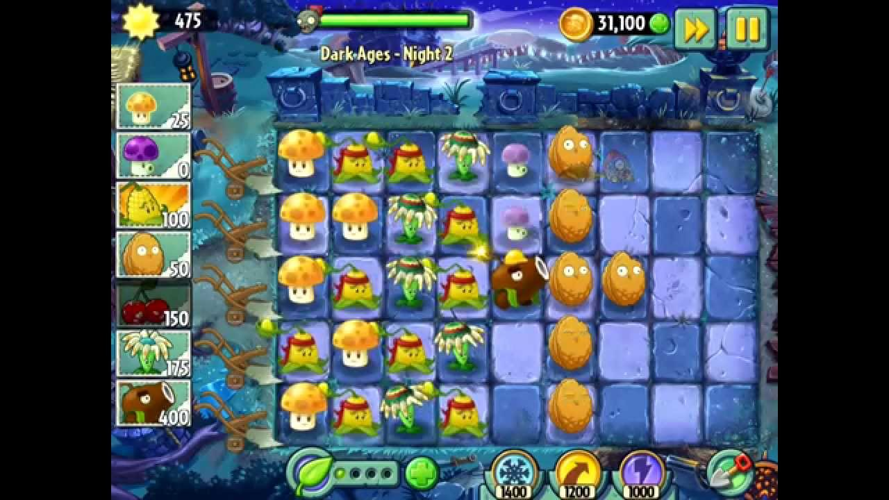 картинки растений из игры зомби против растений 2