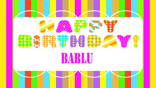 Bablu   Wishes & Mensajes - Happy Birthday
