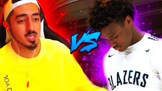 Tyceno Rematches Bronny James for $5000!! Reaction
