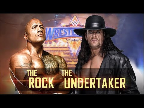 The Rock vs Undertaker - Wrestlemania 33 thumbnail