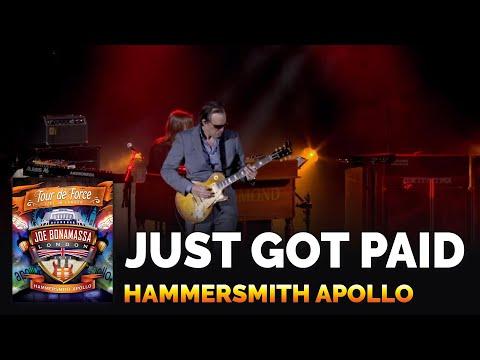 "Joe Bonamassa Official - ""Just Got Paid"" - Tour De Force: Hammersmith Apollo"