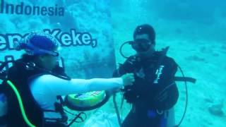 Underwater HUT 17 Tahun Telkomsel Area Pamasuka