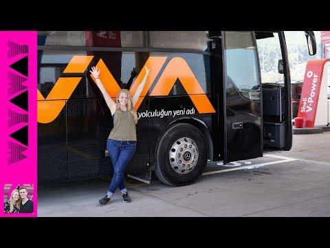 The BESTest bus ride ever! Istanbul to Izmir - Turkey vlog #382