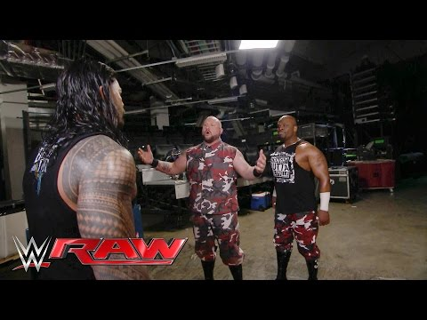 The Dudley Boyz ambush Roman Reigns: Raw, March 28, 2016