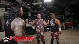 The Dudley Boyz ambush Roman Reigns: Raw, March 28, 2016