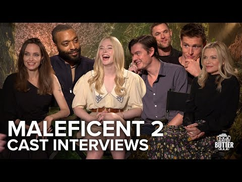 Maleficent Mistress Of Evil Cast Interviews Angelina Jolie Michelle Elle More Extra Butter