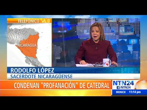 """Recibí un golpe en la mandíbula"": sacerdote atacado en iglesia de Nicaragua"