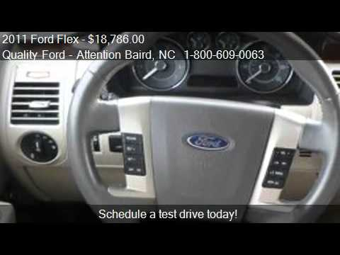2011 Ford Flex SEL FWD - for sale in Whiteville, NC 28472