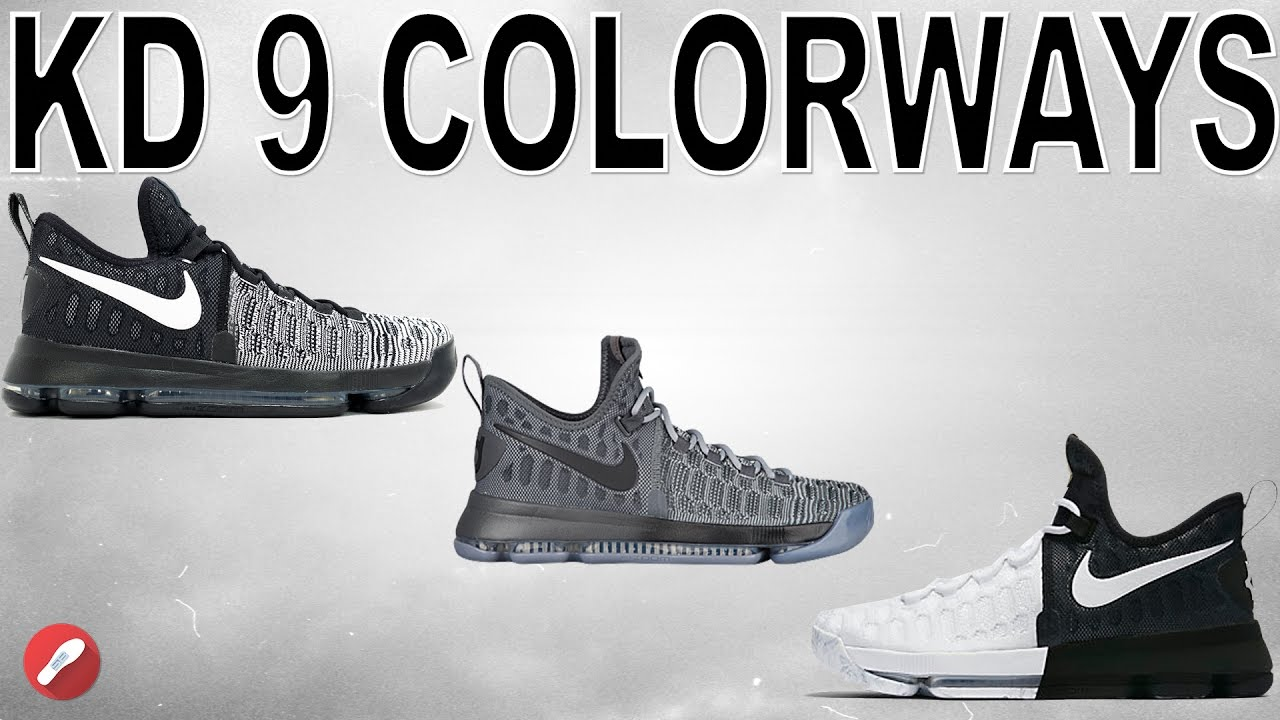 nike kd 9 colorways