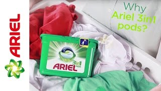 Why choose Ariel 3in1 PODS? Great Value! – Ariel