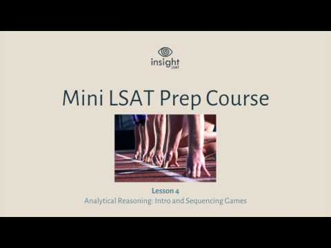 LSAT Logic Games Strategy - Sequencing Games