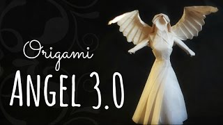 How to make an origami Angel 3.0 (Tadashi Mori)
