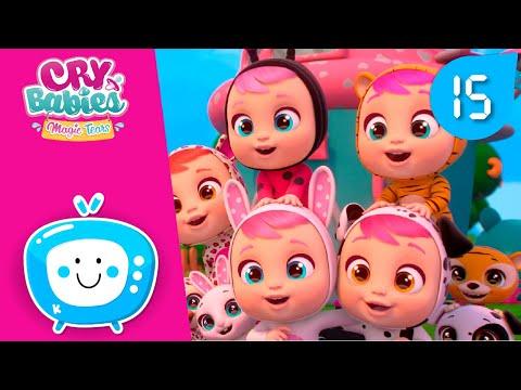 Сборник 15мин.! 😎 CRY BABIES 💧 MAGIC TEARS 💕 Детский мультфильм 🎈 Для зрителей старше 0-х лет