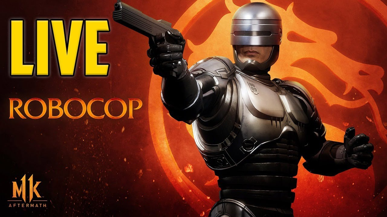 Robocop In Mortal Kombat 11 Live. I'd Buy That For A Dollar!