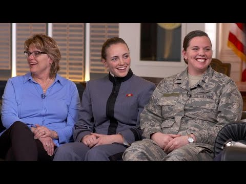 3 sisters carry on tradition with 4th generation of military service