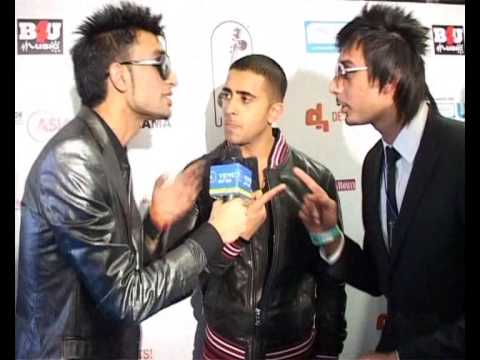 Jay Sean Down  Funny Interview @ UK AMA 2010 EK aur EK 11