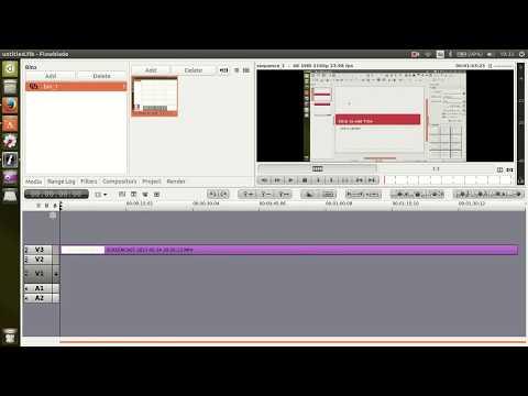 Flowblade on Ubuntu 17   [4K video editor]