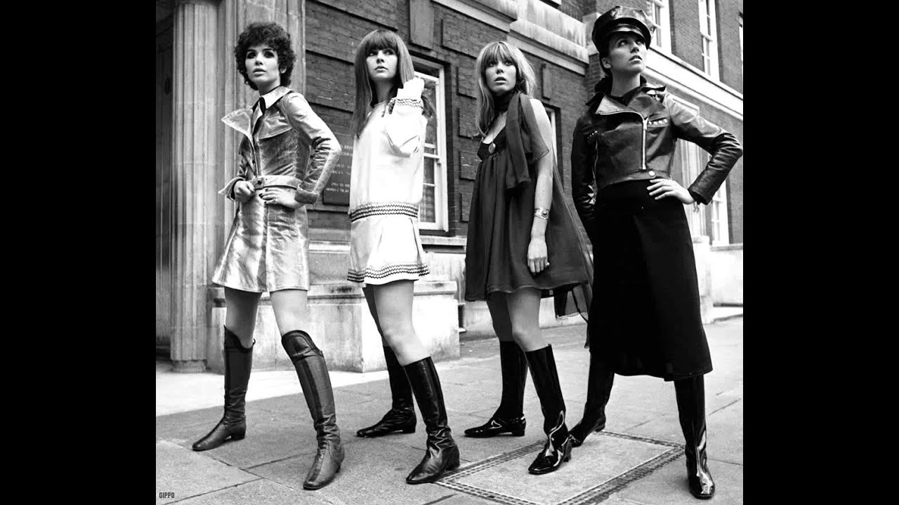 1960s Womens Fashion In Britain YouTube