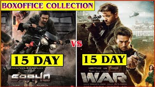 War movie Collection vs Saaho Movie collection, Prabhas vs Hrithik roshan War Boxoffice collection