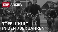 Töffli-Boom in der Schweiz (1972) | Mofa fahren ist Kult | SRF Archiv