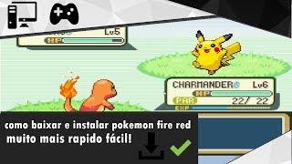 Como Baixar e Instalar - Pokémon Fire Red Para PC [2018]