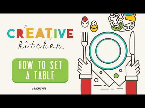 CrEATive Kitchen - How To Set A Table For Kids