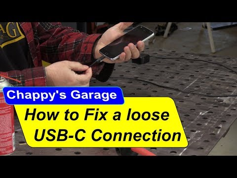How to fix a loose USB C connection