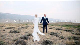 Ainsley + Cameron   Epic Wyoming Wedding
