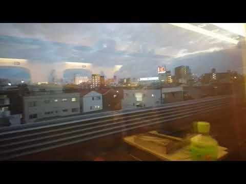 【東京旅行・帰路編】のぞみ115号 新大阪到着