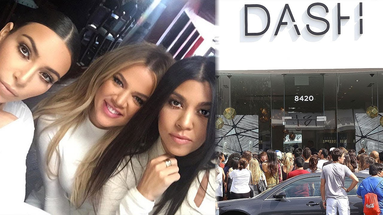 Kardashians Shutting Down All Dash Stores For This Reason Youtube