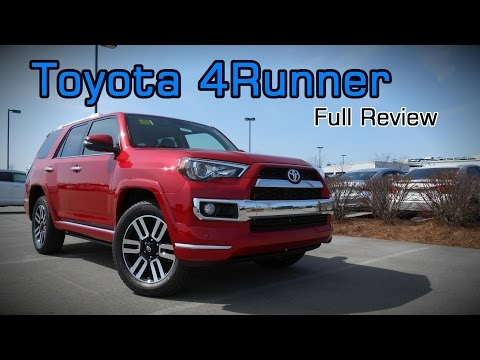 2017 Toyota 4Runner: Full Review | Limited, TRD Off-Road Pre