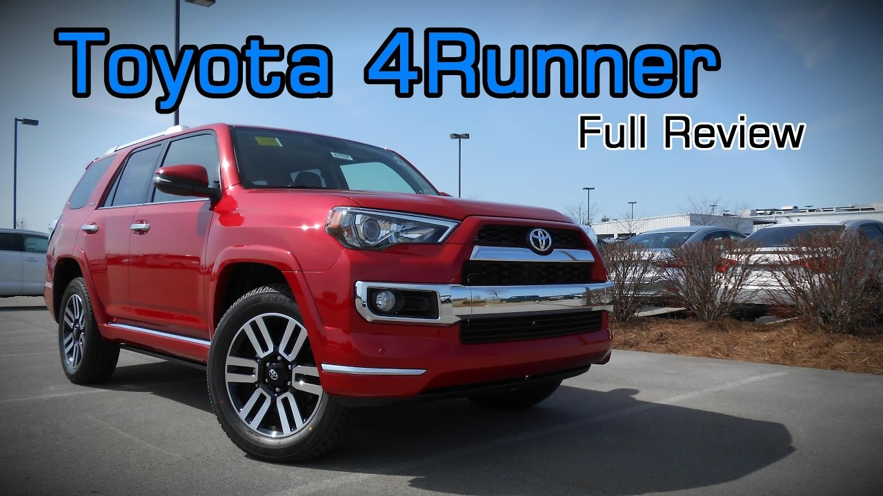 2017 Toyota 4runner Full Review Limited Trd Off Road Premium Sr5