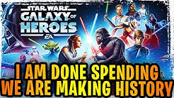 I'm Done with Galaxy of Heroes Spending - EA/CG Controversy Update - Big Changes Are Needed