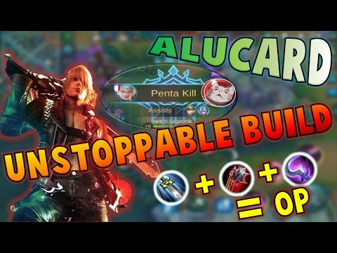 Mobile Legends CRAZY ALUCARD GAMEPLAY PENTAKILL BEST