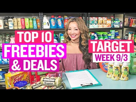 ★ Top 10 Target Coupon DEALS & FREEBIES (Week 9/3-9/9)