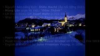 """Lịch sử Đêm Thánh- History of """"Silent Night"""" -TH -CLAVINOVA"""