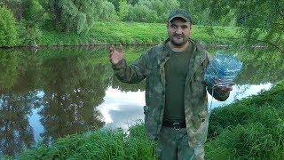 Как поймать рыбу без удочки. Ловушка для рыбы из бутылки.