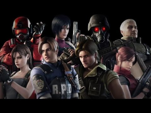 Top 10 Resident Evil Characters