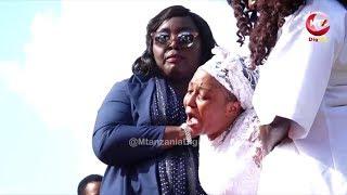 Muna na Mume wake walivyoaga mwili wa mtoto wao
