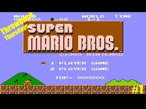 Throwback Thursdays #1   Super Mario Bros