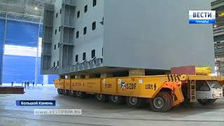 В Большом Камне ключи от новых квартир получили судостроители ССК «Звезда»